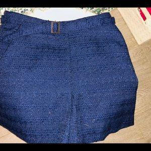 Mini Skirt Navy Blue with Belt